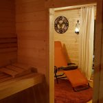 Bockshahn Sauna Ruheraum